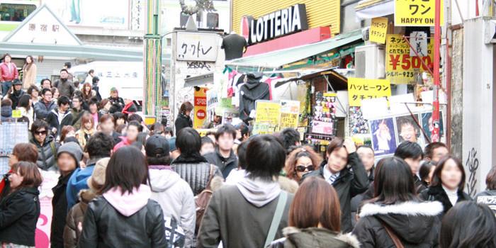 お勧めしたい渋谷の見どころ:原宿竹下通り