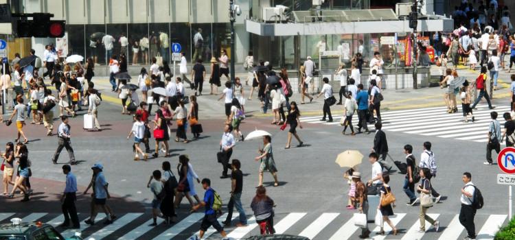 お勧めしたい渋谷の見どころ:スクランブル交差点