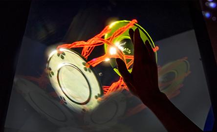 カブキノヒカリ展 exhibition: the lighting art of KABUKI